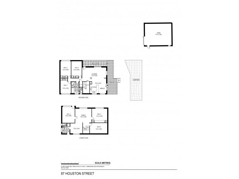 87 Houston Street, Quarry Hill VIC 3550 Floorplan