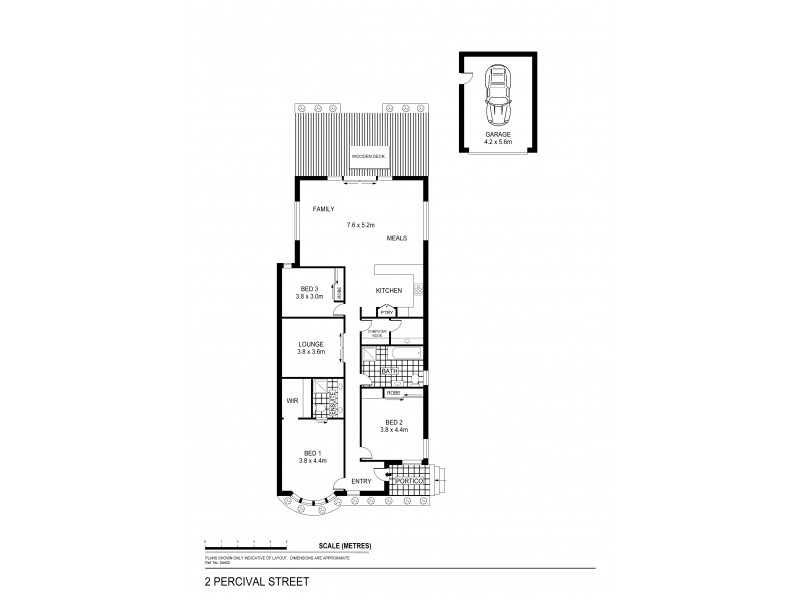 2 Percival Street, Quarry Hill VIC 3550 Floorplan