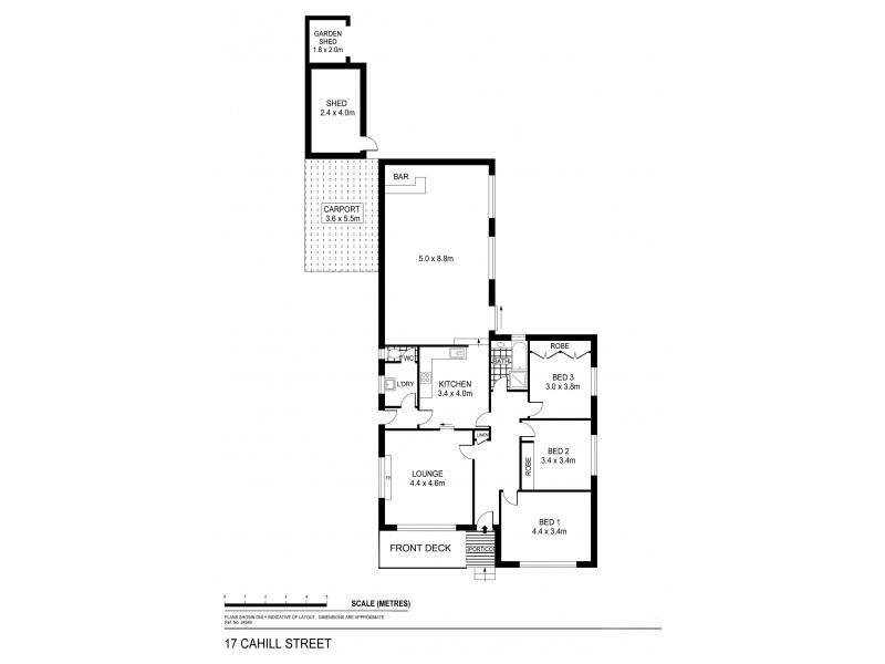 17 Cahill Street, White Hills VIC 3550 Floorplan