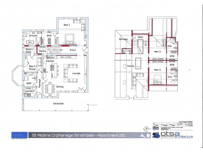 25/202 St Aidans Road, Kennington VIC 3550 Floorplan