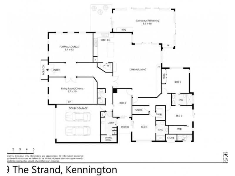 19 The Strand, Kennington VIC 3550 Floorplan