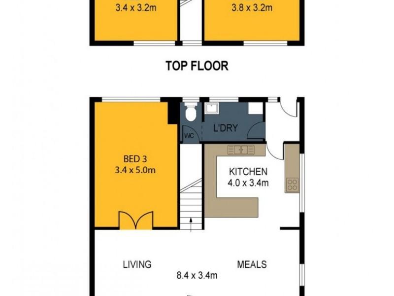 1/35 Havlin Street East, Bendigo VIC 3550 Floorplan