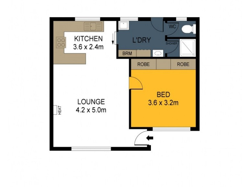4/45 Glencoe Street, Kennington VIC 3550 Floorplan