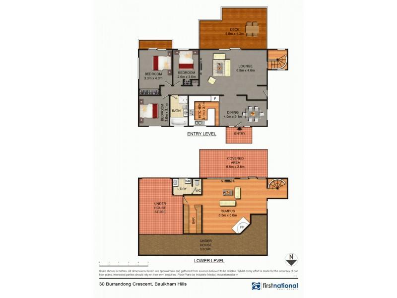 30 Burrandong Crescent, Baulkham Hills NSW 2153 Floorplan