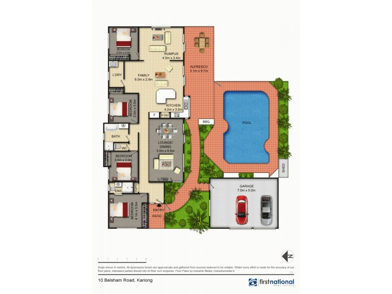 Kariong NSW 2250 Floorplan