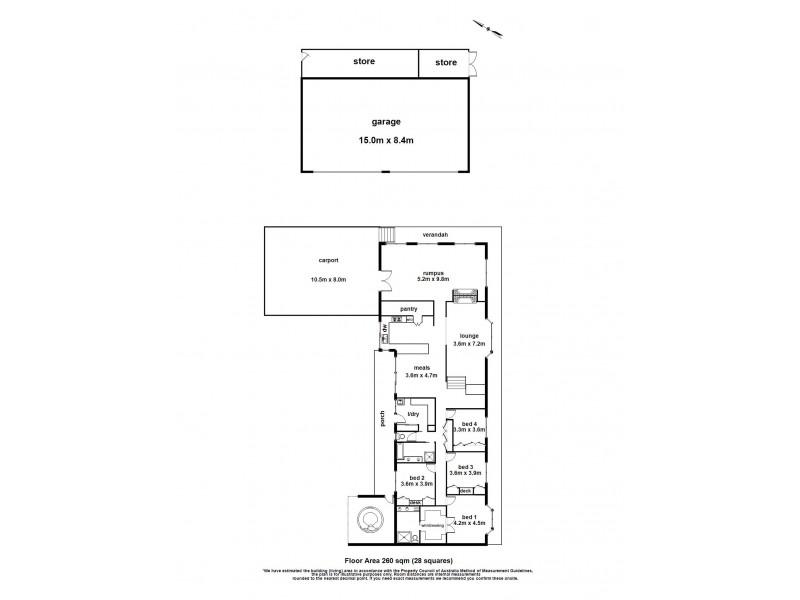 13-14 Gillies Court, Narre Warren South VIC 3805 Floorplan
