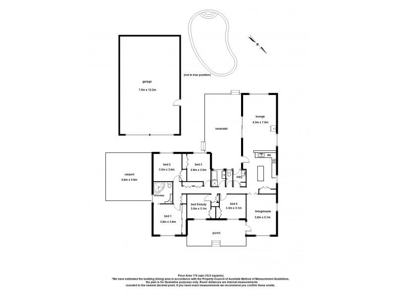 80 Kenilworth Avenue, Beaconsfield VIC 3807 Floorplan