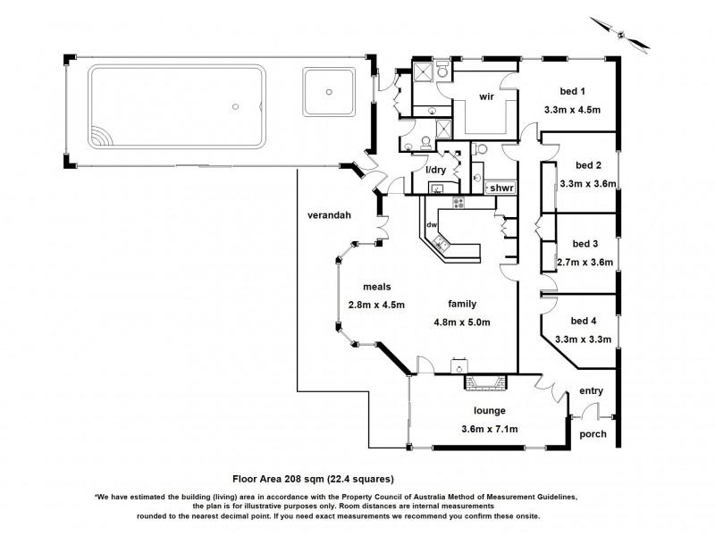 455 Berwick Road, Narre Warren East VIC 3804 Floorplan