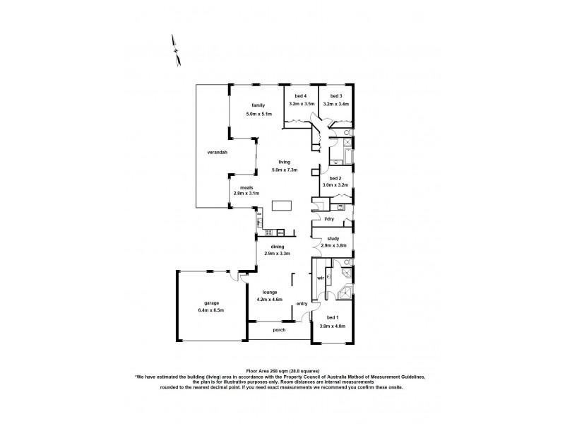 114 Langbourne Drive, Narre Warren South VIC 3805 Floorplan