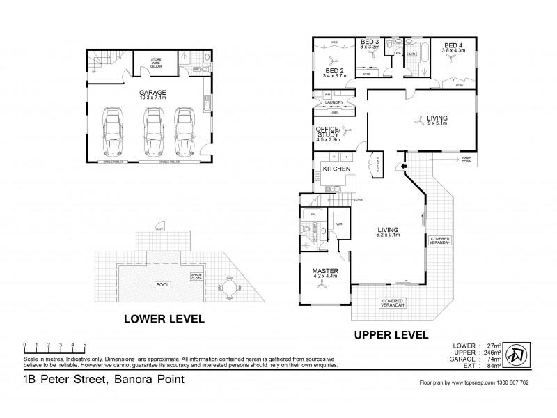 1B Peter Street, Banora Point NSW 2486 Floorplan