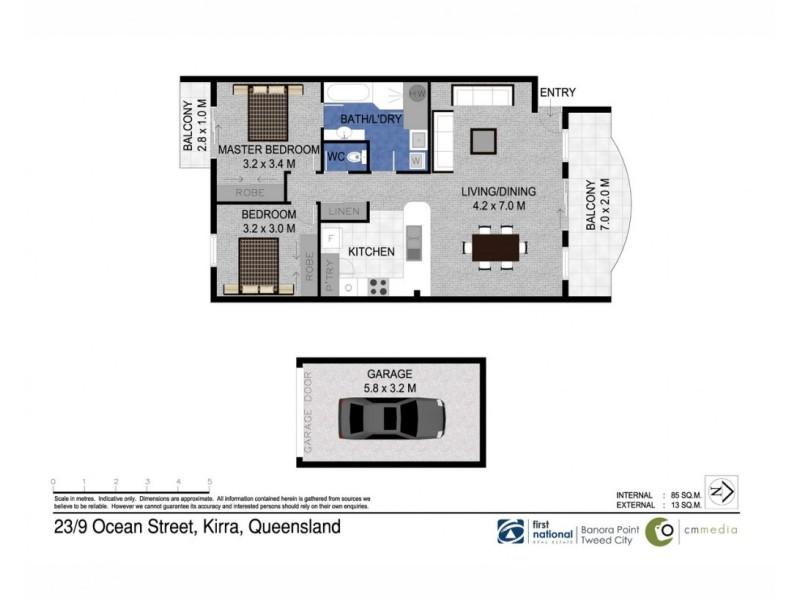 23/9 Ocean Street, Coolangatta QLD 4225 Floorplan