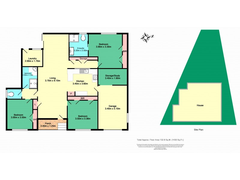 3 Stanton Drive, Ulladulla NSW 2539 Floorplan