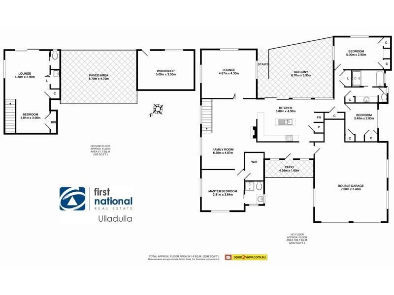 4 Byangee Street, Ulladulla NSW 2539 Floorplan