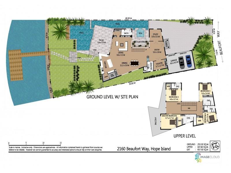 2160 Beaufort Way, Hope Island QLD 4212 Floorplan