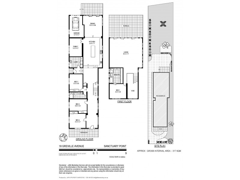 18 Greville Avenue, Sanctuary Point NSW 2540 Floorplan