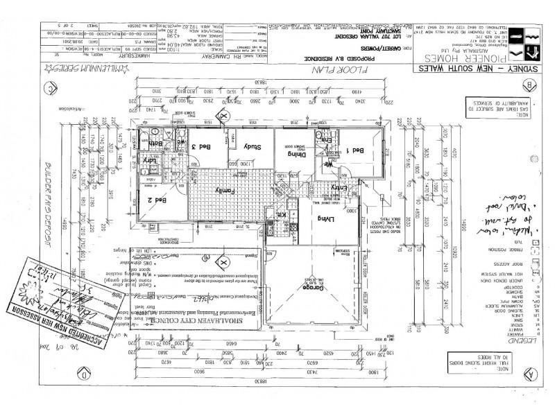 6 Yallara Crescent, Sanctuary Point NSW 2540 Floorplan
