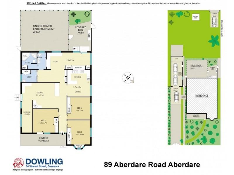 89 Aberdare Road, Aberdare NSW 2325 Floorplan