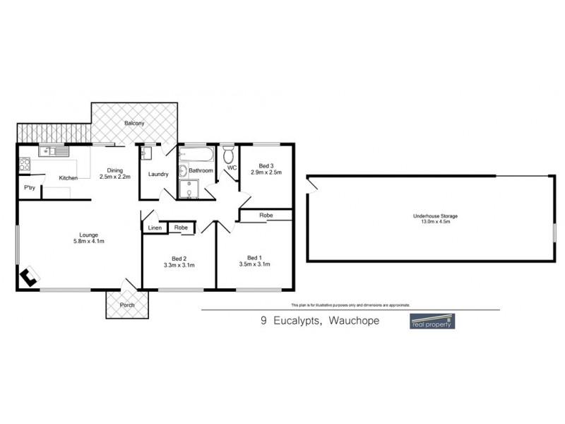Wauchope NSW 2446 Floorplan