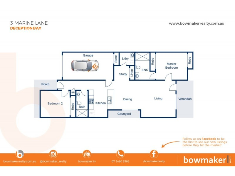 3 Marine Lane, Deception Bay QLD 4508 Floorplan