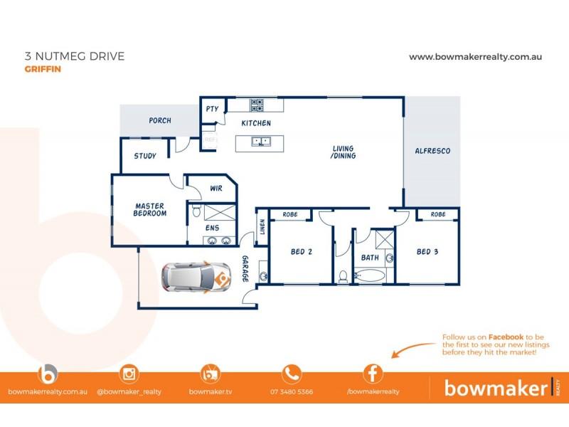 3 Nutmeg Drive, Griffin QLD 4503 Floorplan