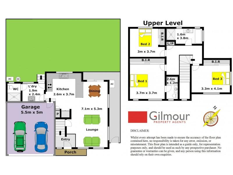 1/16-18 Cross Street, Baulkham Hills NSW 2153 Floorplan