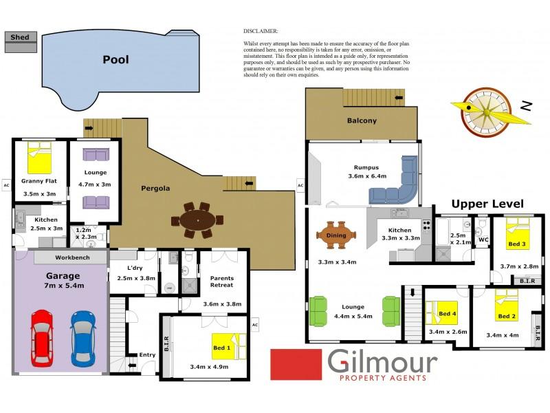 32 Buckingham Road, Baulkham Hills NSW 2153 Floorplan