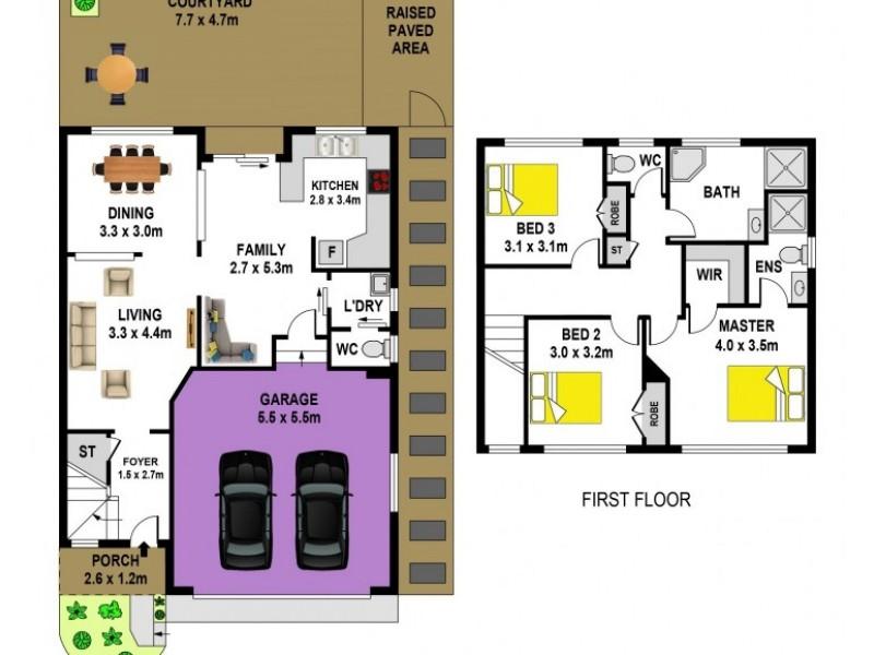 6/31-35 Brodie Street, Baulkham Hills NSW 2153 Floorplan