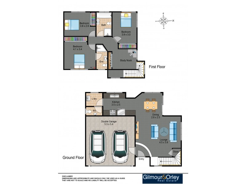 4/23a Charles Street, Baulkham Hills NSW 2153 Floorplan