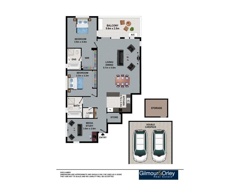 12/44-46 Jenner Street, Baulkham Hills NSW 2153 Floorplan