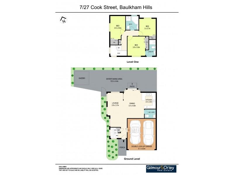 7/27 Cook Street, Baulkham Hills NSW 2153 Floorplan