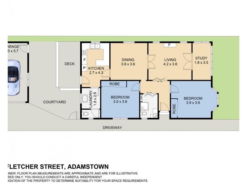 41 Fletcher Street, Adamstown NSW 2289 Floorplan