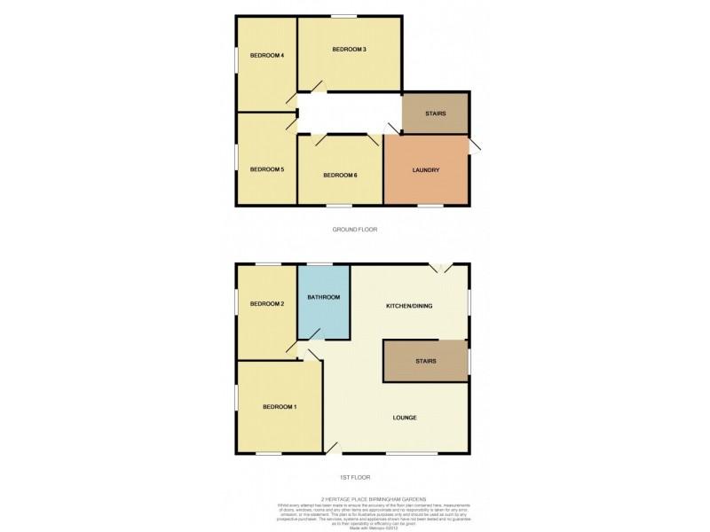 2 Heritage Place, Birmingham Gardens NSW 2287 Floorplan