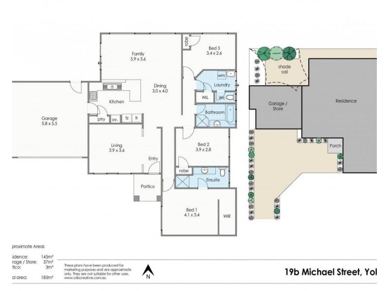 19B Michael Street, Yokine WA 6060 Floorplan