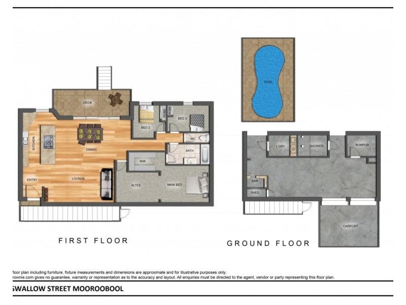 50 Swallow Street, Mooroobool QLD 4870 Floorplan