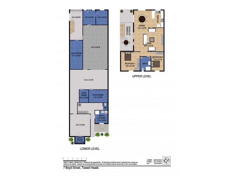 7 Boyd Street, Tweed Heads NSW 2485 Floorplan