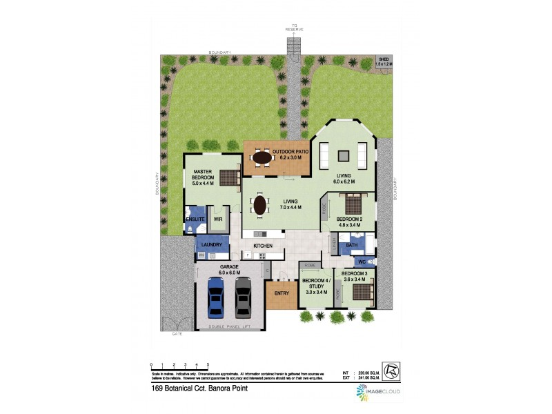 169 Botanical Circuit, Banora Point NSW 2486 Floorplan