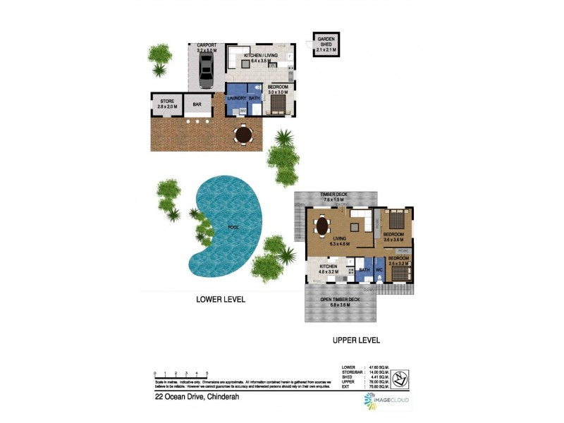 22 Ocean Drive, Chinderah NSW 2487 Floorplan