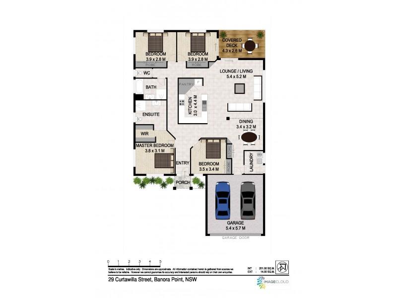 29 Curtawilla Street, Banora Point NSW 2486 Floorplan