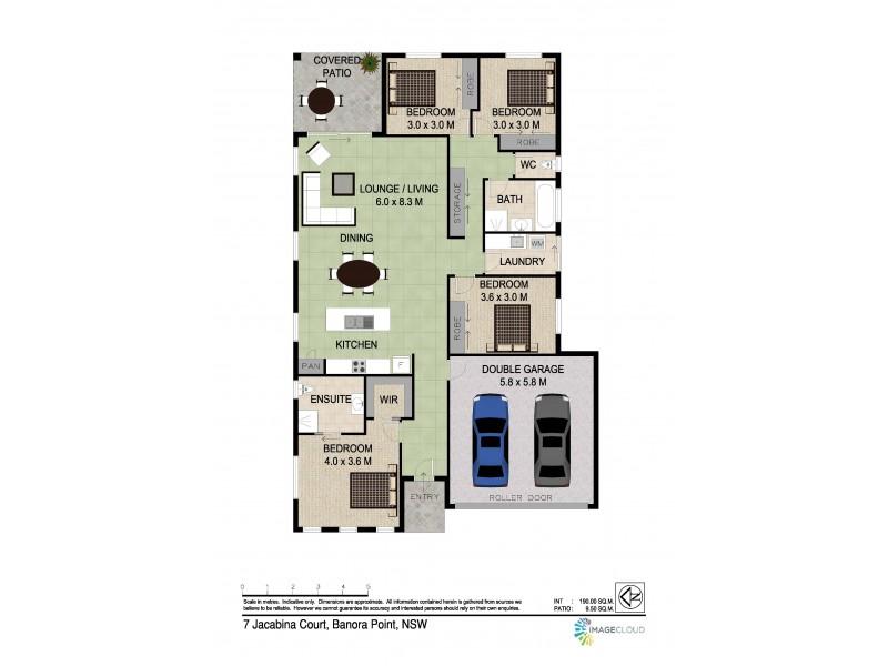 7 Jacabina Court, Banora Point NSW 2486 Floorplan