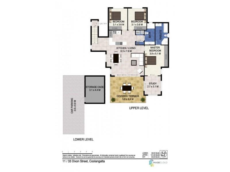 11/33-37 Dixon Street 'Park Side View', Coolangatta QLD 4225 Floorplan