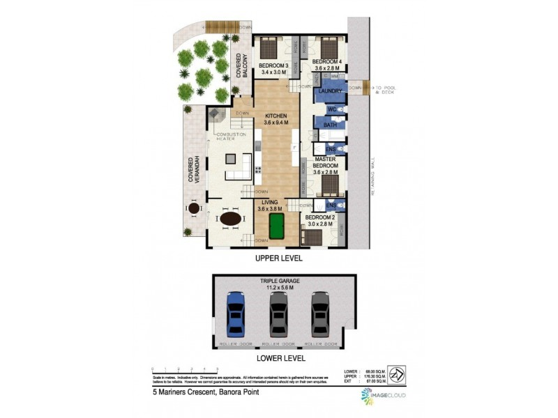 5 Mariners Crescent, Banora Point NSW 2486 Floorplan