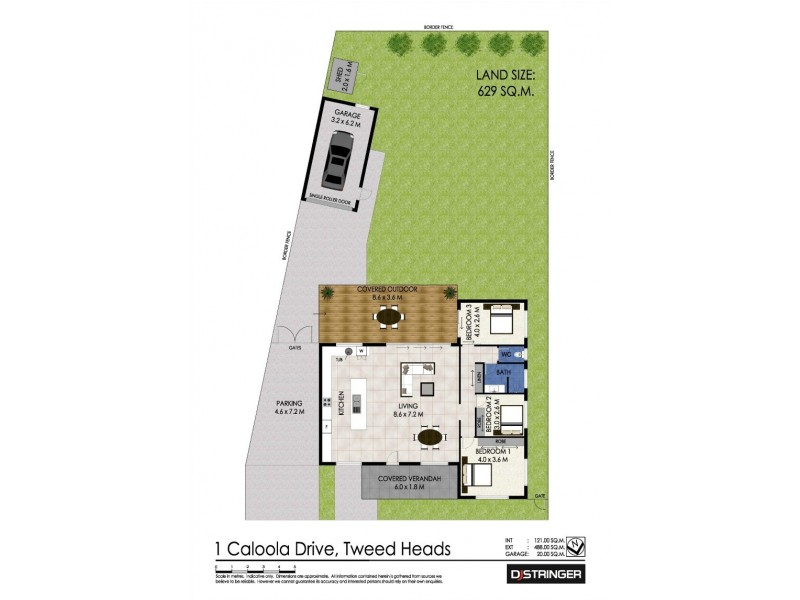 1 Caloola Drive, Tweed Heads NSW 2485 Floorplan