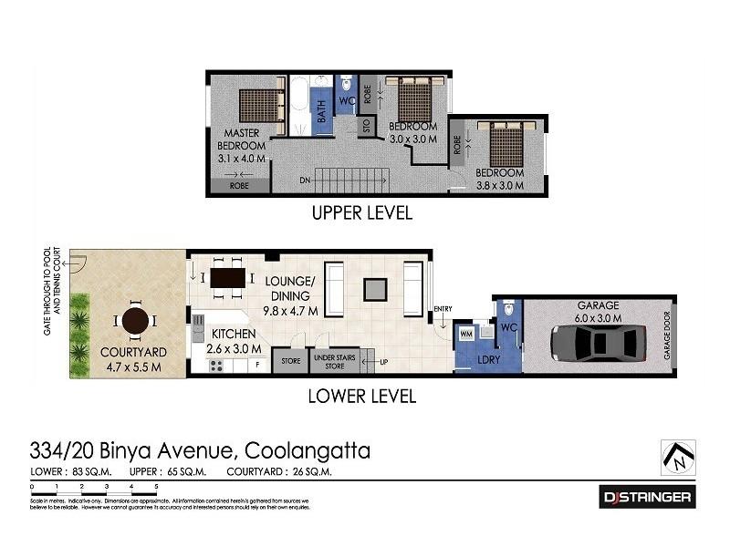 334/20 Binya Avenue – Kirra Shores, Tweed Heads NSW 2485 Floorplan