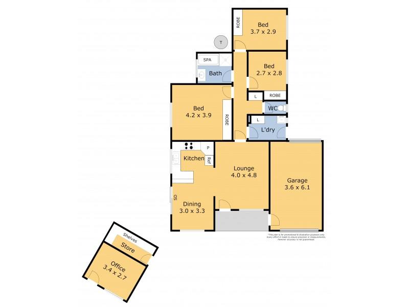 2/3 Callan Court, Norlane VIC 3214 Floorplan