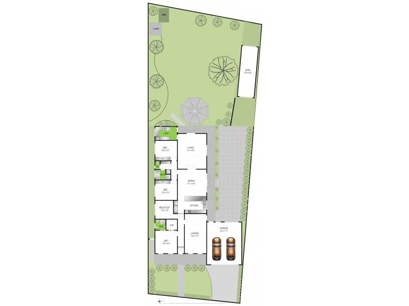 10 Kinsmead Street, Waurn Ponds VIC 3216 Floorplan