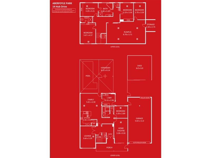 14 Hub Drive, Aberfoyle Park SA 5159 Floorplan