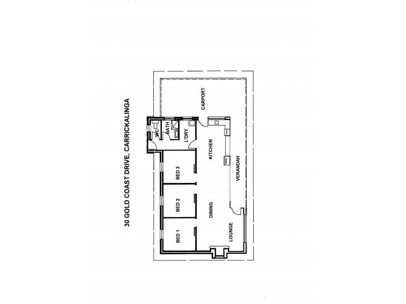 Lot 563, 30 Gold Coast Drive, Carrickalinga SA 5204 Floorplan