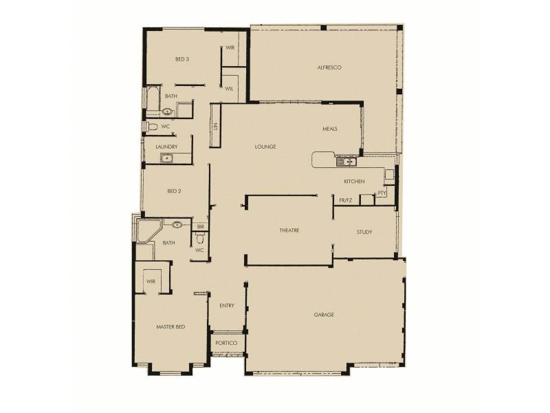 33 Cervantes Drive, Erskine WA 6210 Floorplan