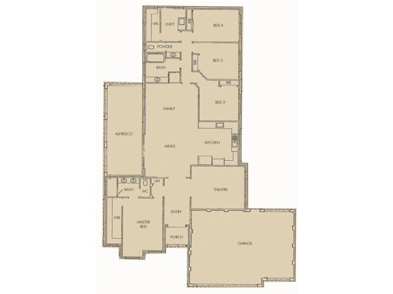 60 Silverton Crescent, Erskine WA 6210 Floorplan