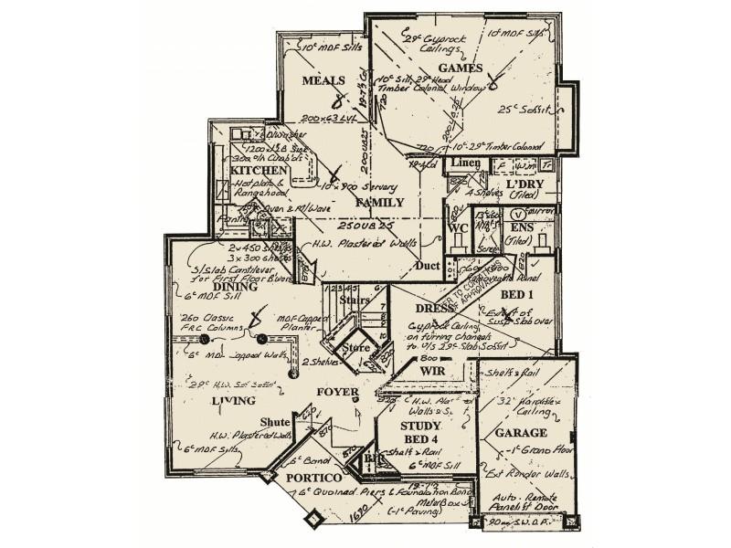 1 Carnarvon Way, Erskine WA 6210 Floorplan